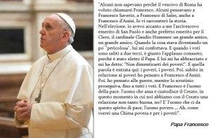 papa francesco pace con il creato