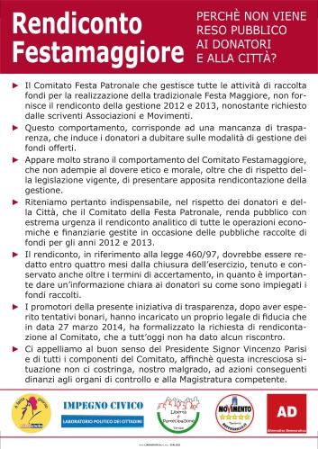 RENDICONTO FESTA MAGGIORE.indd